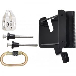 Tripod adaptation kit for retractable fall arrester with integrated rescue winch FA 20 401 20